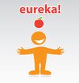 Eureka vector image vector image