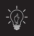 idea Hand vector image vector image