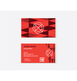 object business card vector image vector image