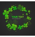St Patricks Day abstract background vector image vector image
