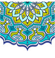 abstract mandala blue background image vector image vector image