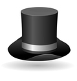 cylinder hat vector image vector image
