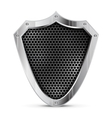 Detailed metal shield vector | Price: 1 Credit (USD $1)