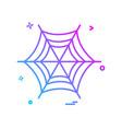 halloween icon design vector image vector image