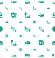 jack icons pattern seamless white background vector image vector image