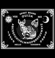 ouija boards occultism set voices from other vector image vector image