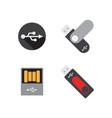 usb flashdisk graphic design template vector image