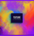 watercolor vibrant texture background vector image