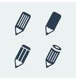 Symbol set pen vector image
