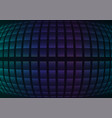 blue fisheye abstract pixel curve background vector image