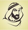 arabic man vector image vector image