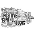 are you positive or negative does your behaviour vector image vector image