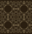 art deco seamless pattern vector image vector image