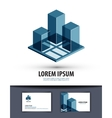 construction logo icon sign emblem template vector image vector image