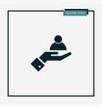 human icon simple vector image vector image