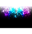 Magic disco background vector image vector image