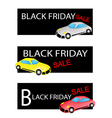 Mobile Computer on Black Friday Sale Background vector image vector image