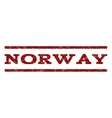 Norway Watermark Stamp vector image vector image