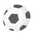 soccer ball cartoon vector image vector image