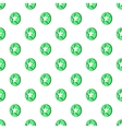 Star in circle pattern cartoon style vector image vector image