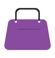 women bag or purse flat and solid vector image vector image