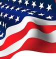 American Flag - Old Glory flag vector image