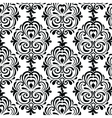 Classic style circular damask pattern vector image vector image