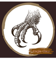 Eagle claw vector image vector image