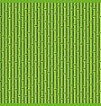 green seamless bamboo background pattern on dark vector image vector image