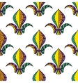 Mardi Gras or Shrove Tuesday seamless pattern vector image vector image