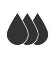 printer ink glyph icon vector image