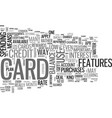 which kind of credit card should i choose text vector image vector image