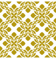 white background with beautiful golg ornaments vector image
