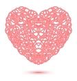 Abstract Openwork Heart vector image