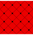 Black Square Diamond Grid Red Background vector image vector image