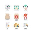 e-commerce website icon vector image vector image