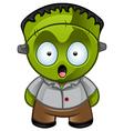 Frankensteins Monster Shocked vector image