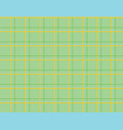 green tablecloth checkered pattern vector image vector image