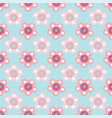 pastel floral seamless pattern repeat on vector image vector image