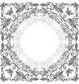 abstract floral lacy background vector image vector image