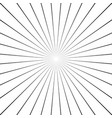 abstract radial lines starburst sunburst circular vector image vector image