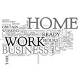 are you ready and minded to work at home text vector image vector image