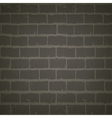 brick wall at night vector image