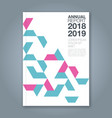 cover annual report 1183 vector image