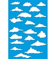 Fabulous clouds set vector image vector image