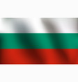 flag of bulgaria - vector image