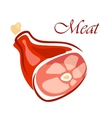 Fresh raw meat vector image vector image