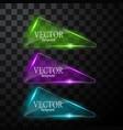 glass button plane easy editable vector image vector image