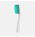 protecting toothbrush icon realistic style vector image vector image