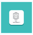 round button for valet parking service hotel vector image